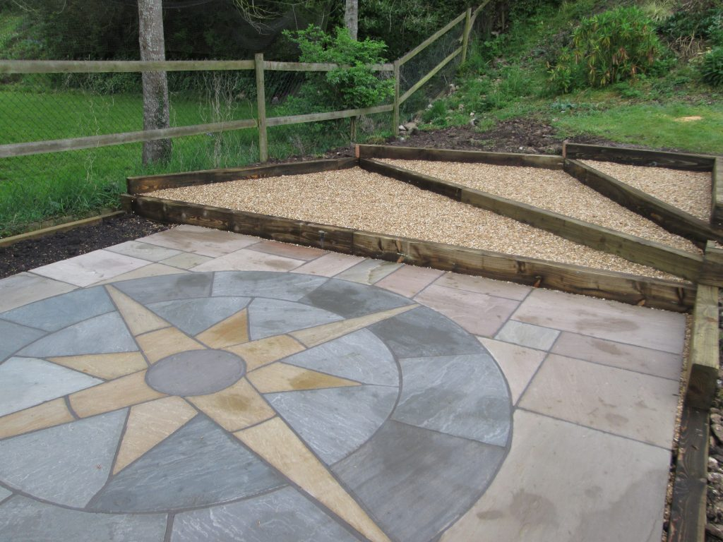 Patio slabs bath landscaping centre bath patio slab centre for Garden decking and slabs